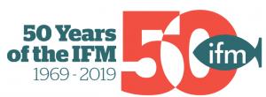 IFM-50 year logo